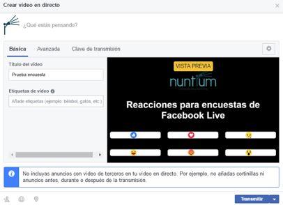 paso final facebook live