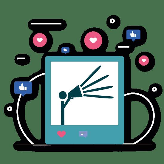 Icono Social Media Community Manager