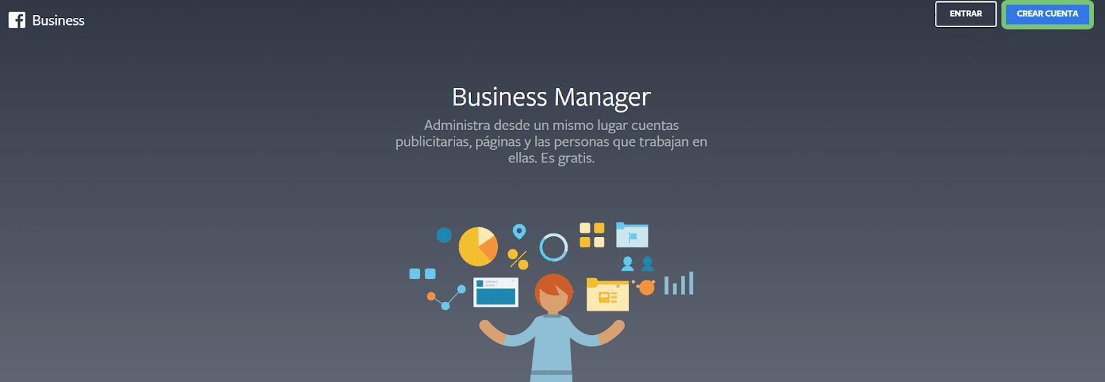 Inicio Business Manager